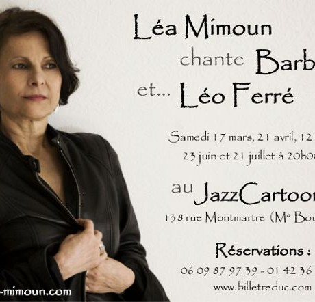 Léa Mimoun au Jazz Cartoon