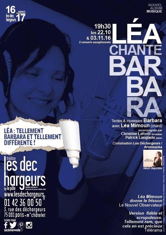 Léa chante Barbara