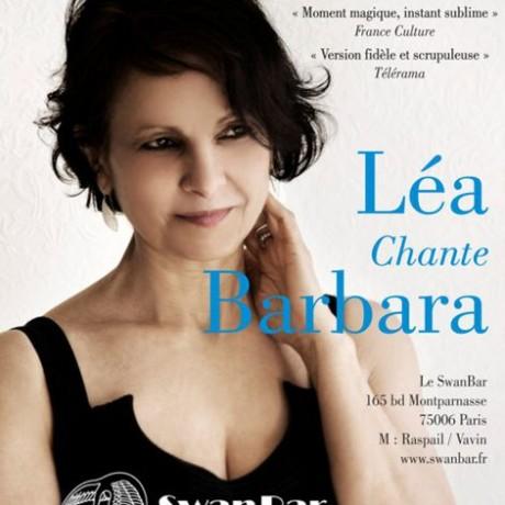 Léa Mimoun au SwanBar