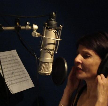 Léa Mimoun en studio à Paris (Février 2011)
