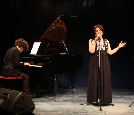 Léa Mimoun et Patrick Langlade à Anvers (Mars 2009)
