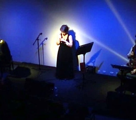 Léa Mimoun à l'Entrepont, Issy-les-Moulineaux (Mars 2007)