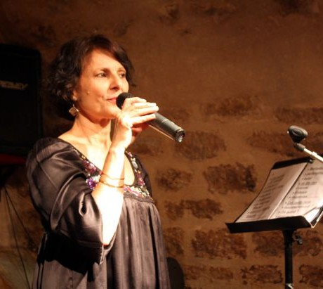 Léa Mimoun au Jazz Cartoon, Paris (Décembre 2008)