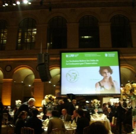 Léa Mimoun au Gala annuel du Technion, Palais Brognard, Paris (Décembre 2007)